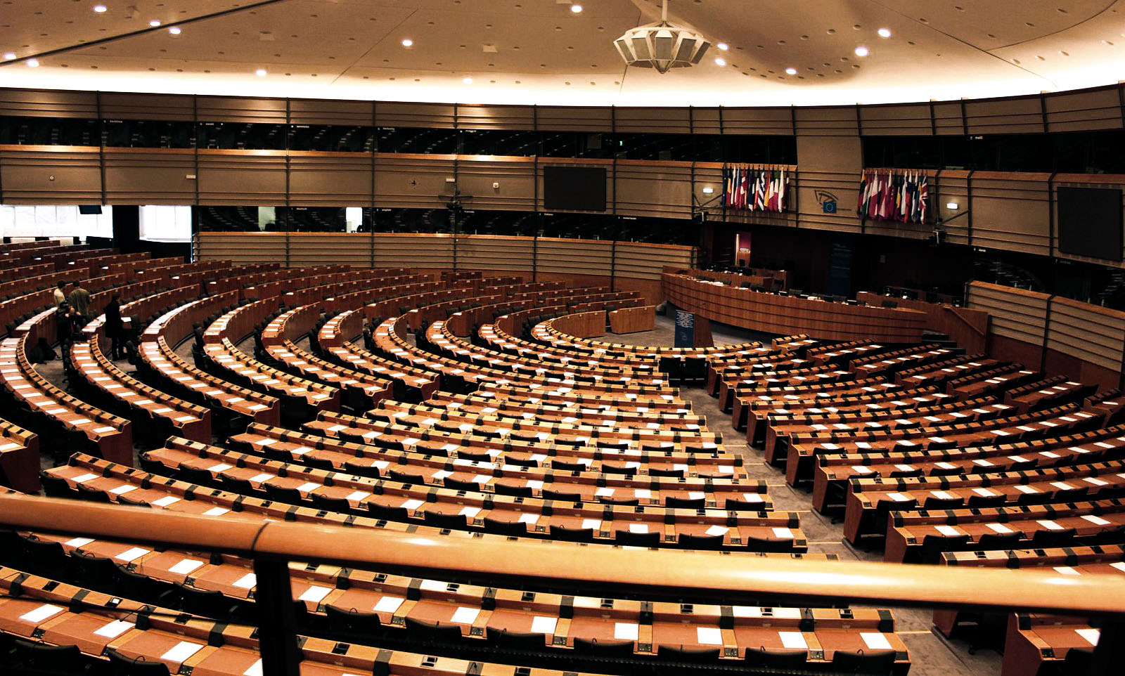 Leeres Parlament